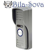 Цветная видеопанель DVT-500, 480 ТВЛ, антивандальная, ик-подсветка и подсветка кнопки, Tesla