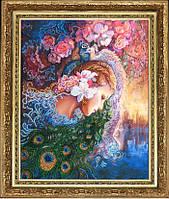 Набор для вышивания бисером Райские цветы БФ 447
