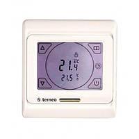 Сенсорный недельный комнатный настенный программируемый терморегулятор terneo sen*, 16А