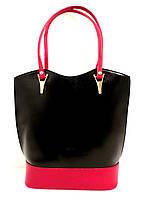 Стильная женская сумка из натуральной кожи. Италия