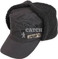 Зимняя шапка ушанкаNorfin Inari Black