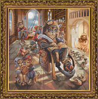 Набор для вышивания нитками на канве Дедушка СР 1159