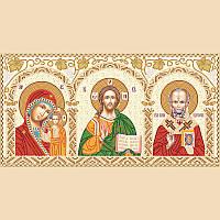 Набор для вышивки бисером Домашний иконостас НИК-3-001