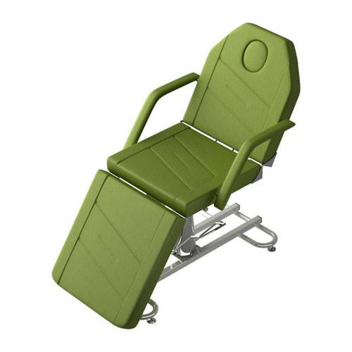 Складное косметологическое кресло на металлическом