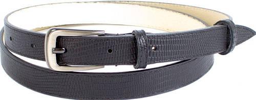 Женский лаконичный узкий кожаный ремень MAYBIK (МЕЙБИК) D355575