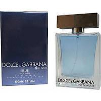 Мужские ароматы Dolce&Gabbana The One blue (свежесть цитрусовых со специями и древесными нотами)
