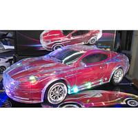 MP3 колонка машинка с подсветкой кузова Aston Martin