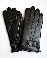 Перчатки зимние кожаные мужские