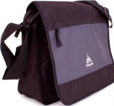Практичная мужская сумка-почтальон Onepolar W5004-grey серая