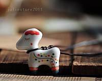 Подвеска модный кулон ожерелье женское праздничное подарок на новый год из керамики ручная работа