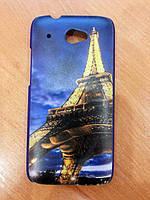 Чехол для HTC Desire 601 (Эйфелева башня)