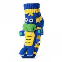 Домашние подарочные носки с 3-Д игрушкой детские