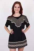 Женская модная туника батального размера недорого, фото 1