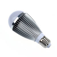 Led лампа с датчиками освещенности и звука 7W(алюминиевый корпус)