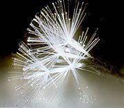 Новогодняя светодиодная гирлянда Кисть 100 LED 7 метров  БЕЛАЯ