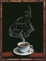 Наборы для вышивания нитками на канве Кофейная Фантазия - Стрелец 1 КИТ 90813