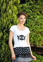 Домашнее платье, ночная сорочка (рубашка) Shirly 4629