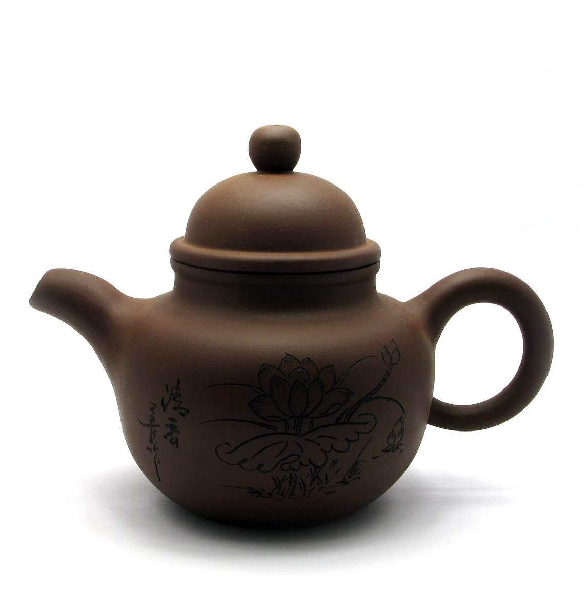 Заварочный чайник глиняный