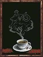 Наборы для вышивания нитками на канве Кофейная Фантазия - Овен 1 КИТ 50413
