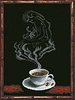 Наборы для вышивания нитками на канве Кофейная Фантазия - Скорпион 1 КИТ 70813