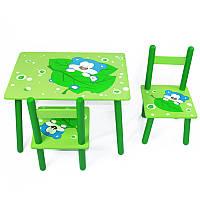 Детский Столик и два стула B16077 Мишка