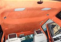 Как натянуть потолок в машине своими руками
