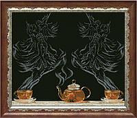 Набор для вышивания нитками Чайная фантазия - балет 1 КИТ 20713