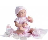 Berenguer, кукла новорожденная девочка в розовом наряде, 39 см