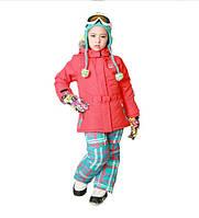 Детский зимний комбинезон термокомбинезон лыжный костюм HI TECH