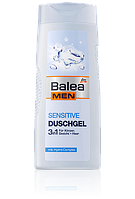 Гель для душа для чувствительной кожи Balea Men Sensitive 3 in 1