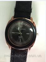 Наручные повседневные часы с силиконовым стканевым ремешком Gergio Armani (Арт. 7092)
