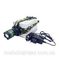 Налобный аккумуляторный фонарь BAILONG MONT-6808 (Арт. 6808)