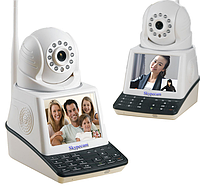 Домашние видеонаблюдение Wifi Беспроводная IP-камера Wi-Fi Видеозвонок Baby Monitor  (Арт. 897)
