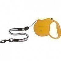 Collar Control L поводок-рулетка желтая для собак до 50кг, 5м