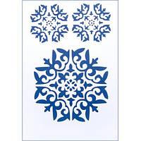 """Трафарет многоразовый """"Восточный орнамент"""" (код 03063)"""