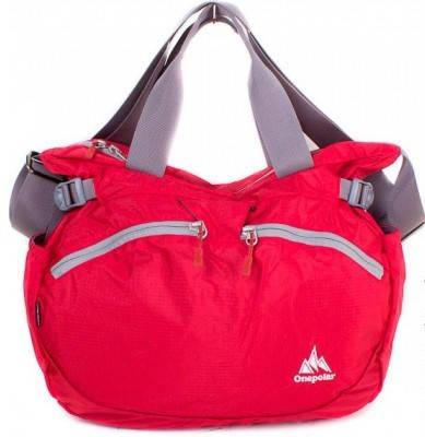 Женская качественная спортивная сумка через плечо ONEPOLAR (ВАНПОЛАР) W5220-red