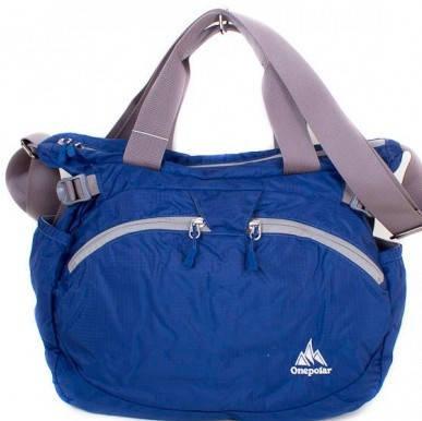Яркая женская спортивная сумка через плечо ONEPOLAR (ВАНПОЛАР) W5220-navy