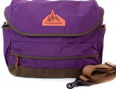Женская спортивная сумка ONEPOLAR (ВАНПОЛАР) W5629-violet фиолетовая