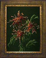 Набор для вышивки бисером Хризантемы в саду КИТ 71209