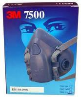 Защитная полумаска 3M™ 7500 Средство защиты органов дыхания, респиратор 7501, 7502, 7503