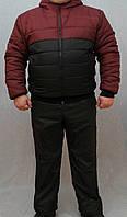 Мужской костюм зимний с латками, фото 1