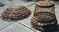 Сувенир плетеный из лозы и дерева