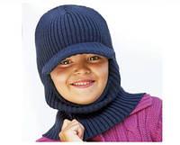 Шапка - шлем для мальчика