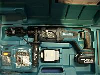 Makita BHR241RFE перфоратор аккумуляторный (3 режима работы, подсветка)