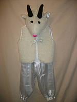 """Карнавальный костюм - """"Белая коза"""" (девочка, мальчик) для детей от 3-х до 7-ми лет"""