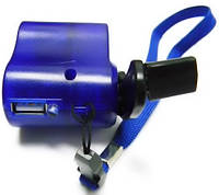 Ручное зарядное устройство для мобильников, динамо-машина, usb-выход, светодиодная индикация, складная ручка