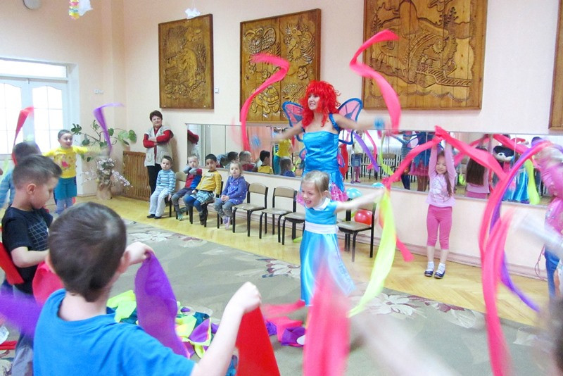 детский праздник с вишенкой