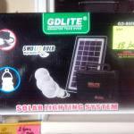 GDLITE GD-8006-A зарядное устройство от солнечной батареи + лампа-фонарь, фото 1
