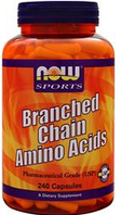 БЦАА, Now Foods, BCAA, 240vcaps