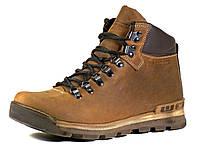 Ботинки зимние натуральные кожаные на меху коричневые GS-комфорт, фото 1